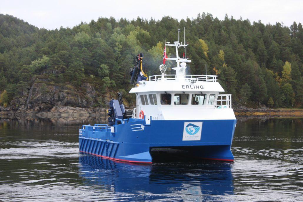 ERLING-E. Karstensen Fiskeoppdrett - www.karstensen.no